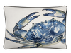 Blue Crab Pillow Cover