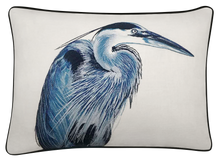 Load image into Gallery viewer, Heron Pillow Cover
