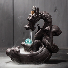 Load image into Gallery viewer, Dragonbreath Incense Burner - Vittoria Wellness