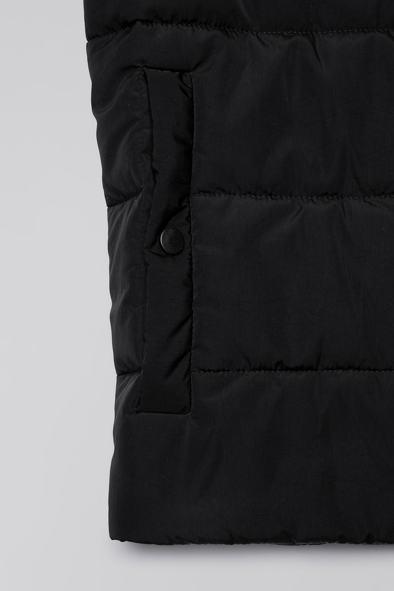 Circle Jacket - Von Ada - 100% Recyclable - Vegan - Swiss Made - Black Coal
