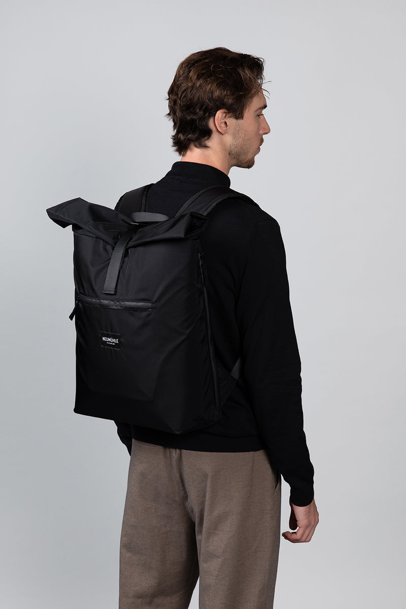 Net-Pack - Black Coal - Rucksack aus Fischernetzen made in Europe