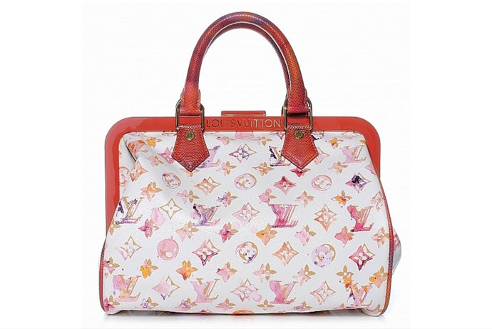 LOUIS VUITTON Limited Edition Richard Prince Speedy Bag