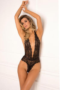 Plunge In Bodysuit - Tiaz Boutique