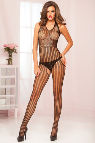 Halter Bodystocking - Tiaz Boutique
