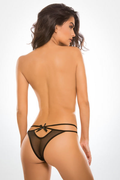 Naughty Vanilla Panty - Tiaz Boutique