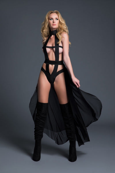 2 in 1 Edgy Bodysuit - Tiaz Boutique