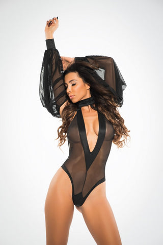 Dream Of Heaven Bodysuit - Tiaz Boutique