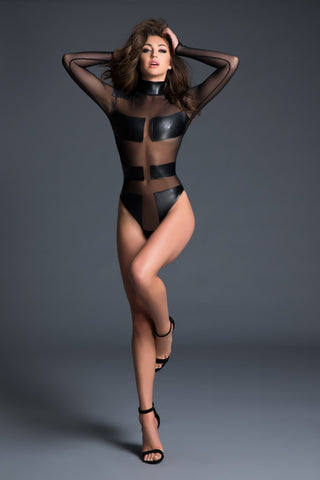 Sleek Tape Bodysuit - Tiaz Boutique