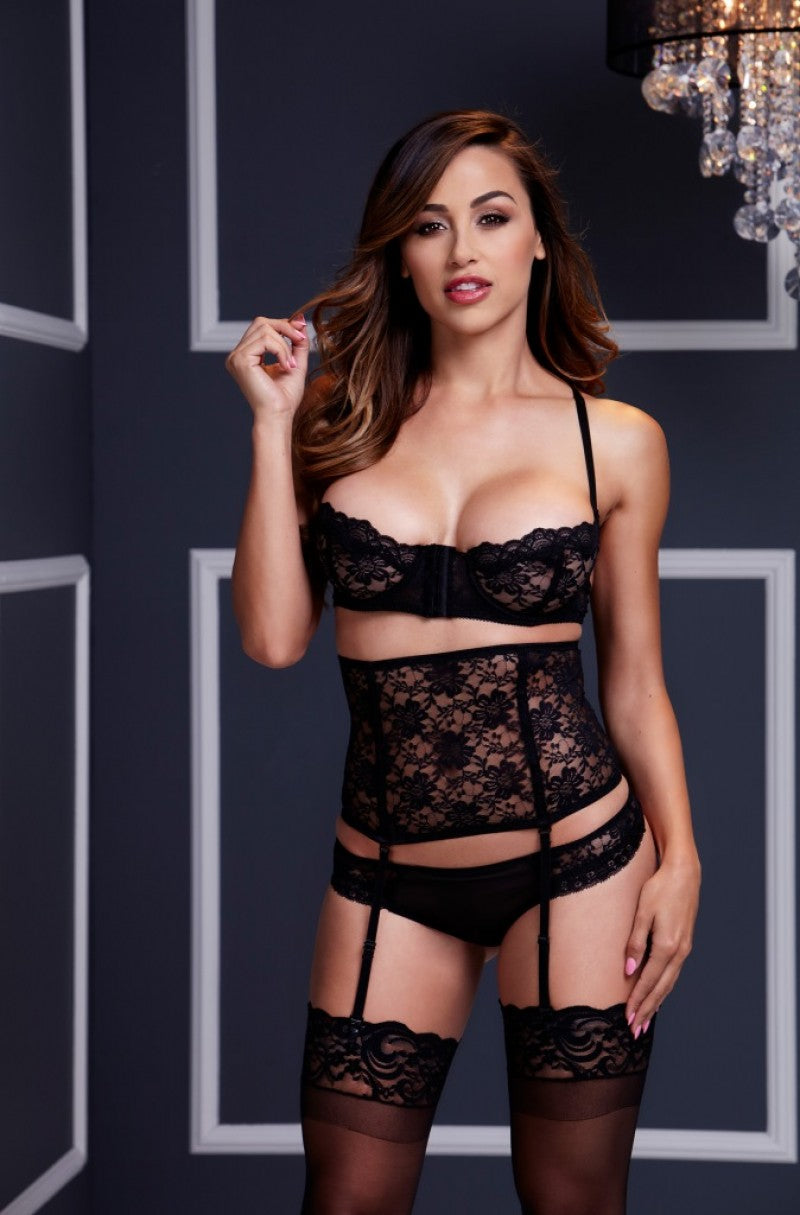 Lacy 3pc Bra Set - Tiaz Boutique