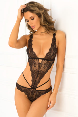Mercy Lace Bodysuit - Tiaz Boutique