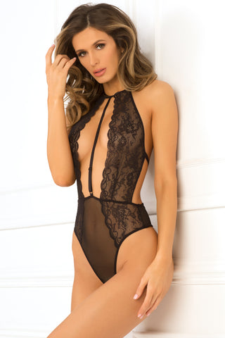 Rochdale Lady Bodysuit - Black - Tiaz Boutique