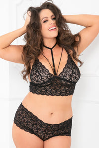 Lucy Chocker Bra Set - Tiaz Boutique