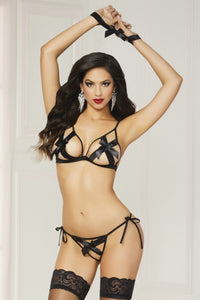 Bow Statement Bra Set - Tiaz Boutique