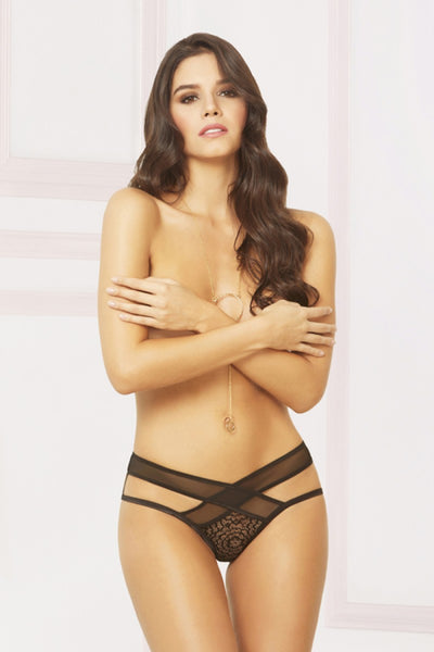Need You Crotchless Panty - Tiaz Boutique