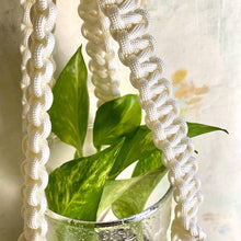 Load image into Gallery viewer, Macrame Plant Hanger (Cream)