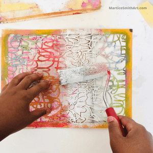 Stencil Pro: A Mini Workshop for the Mixed Media Artist