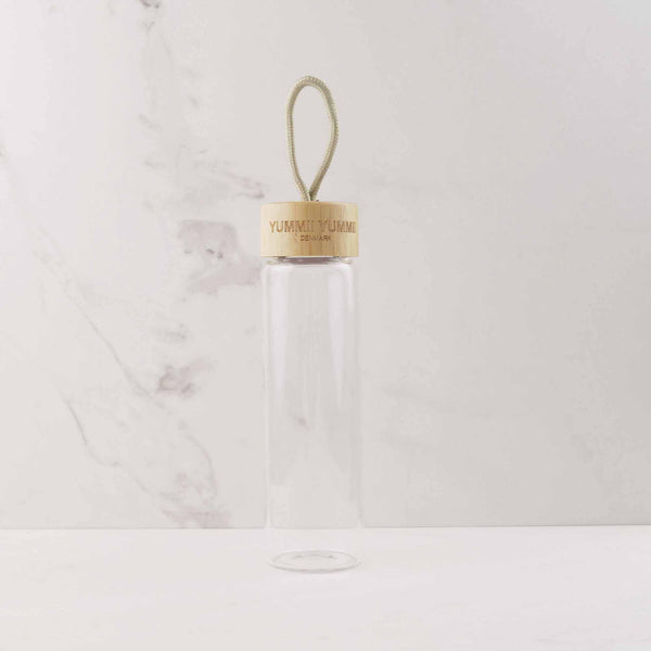 Yummii Yummii Vandflaske - 600 ml Glass Bottles Borosilicate Glass