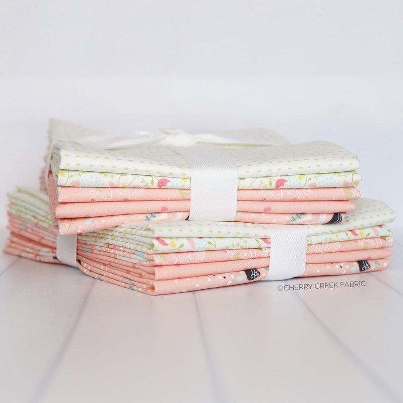 Enchanted Pink Half Yard Bundle from Enchanted Collection at Cherry Creek Fabric