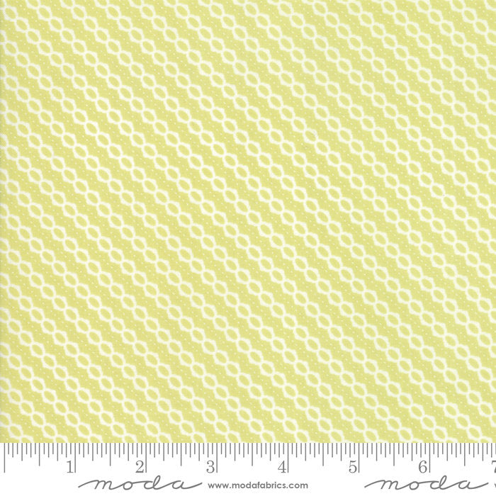 Strawberry Jam Fabric - Green Summer Stripe Fabric - Corey Yoder - Moda Fabric - Stripe Fabric - Binding Fabric - Fabric by the Yard from Cherry Creek Fabric & Crafts Collection at Cherry Creek Fabric