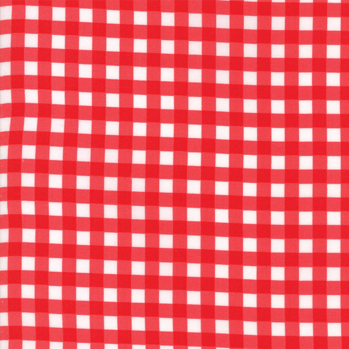 Red Christmas Plaid Fabric from Vintage Holiday Collection at Cherry Creek Fabric