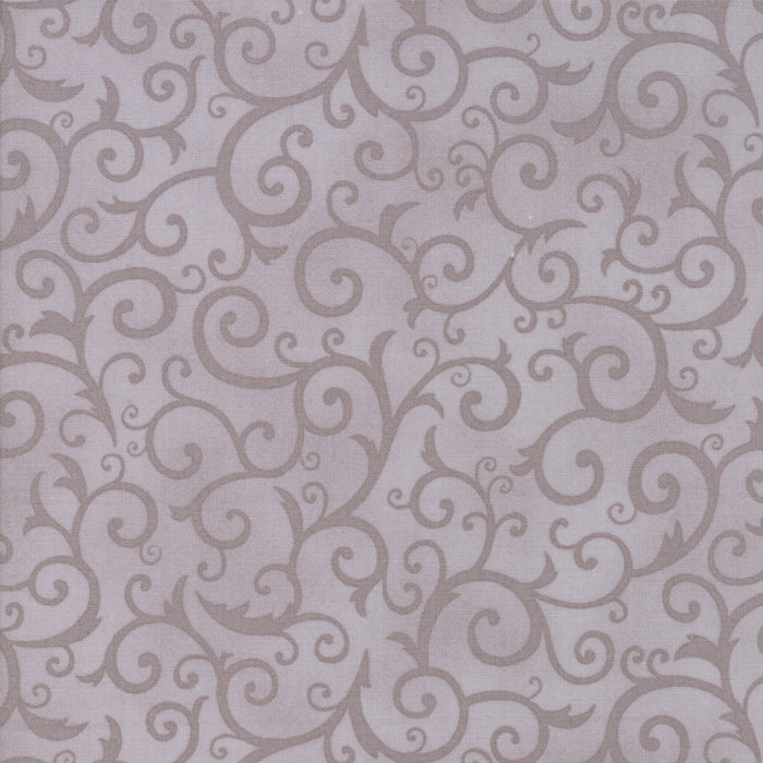 Grey Scary Swirl Fabric