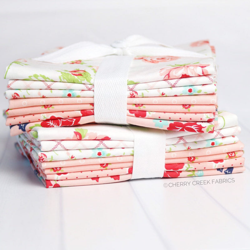 Smitten Pink Half Yard Bundle from Smitten Collection at Cherry Creek Fabric