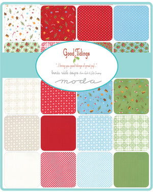 Good Tidings Layer Cake from Good Tidings Collection at Cherry Creek Fabric