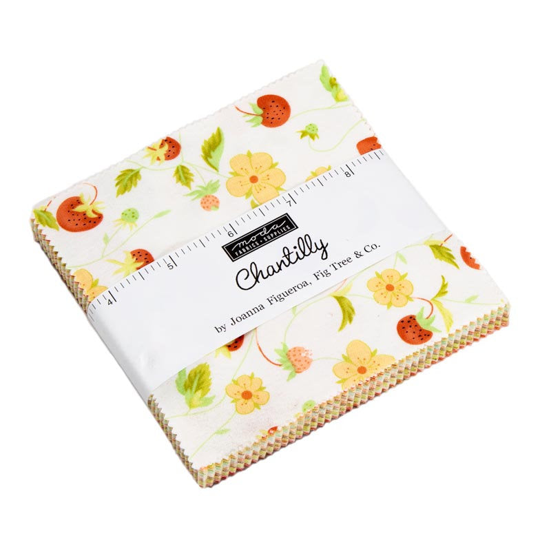 Chantilly Charm Pack from Chantilly Collection at Cherry Creek Fabric