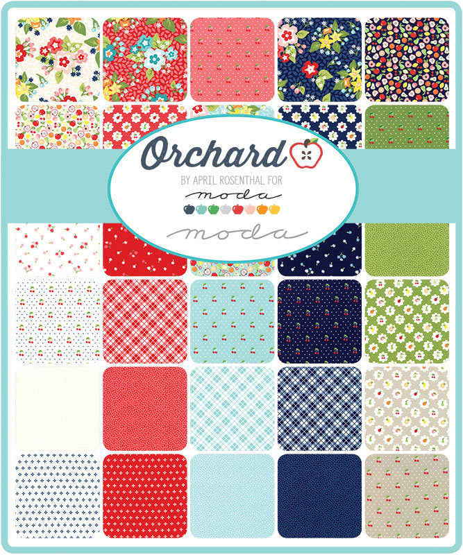 Orchard Jelly Roll from Orchard Collection at Cherry Creek Fabric