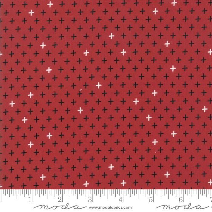 Merry Starts Here by Sweetwater | Red Twinkle Star Fabric