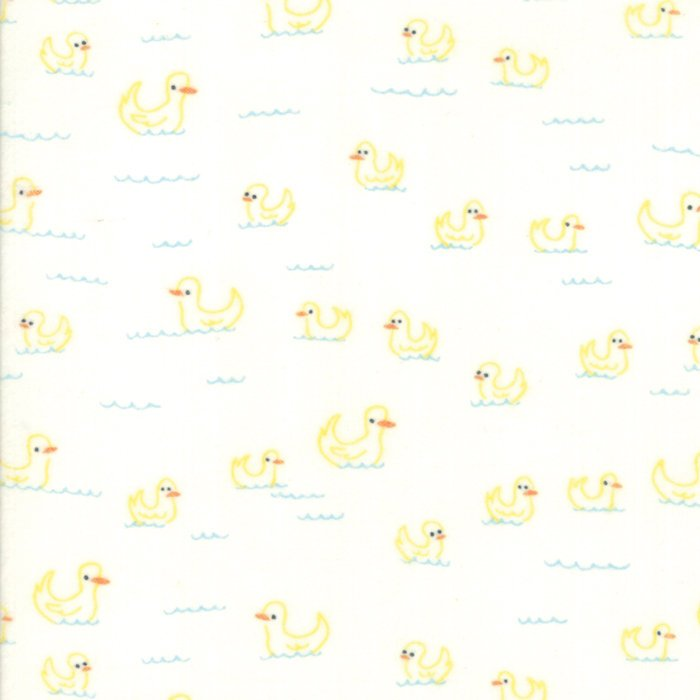 Cream Duck Flannel Fabric from Soft & Sweet Flannel Collection at Cherry Creek Fabric