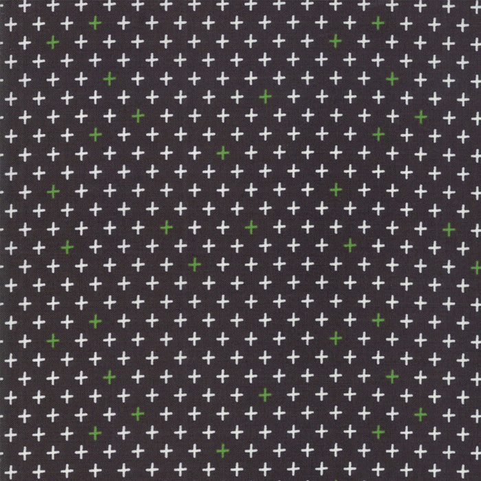 Merry Starts Here by Sweetwater | Black Twinkle Star Fabric