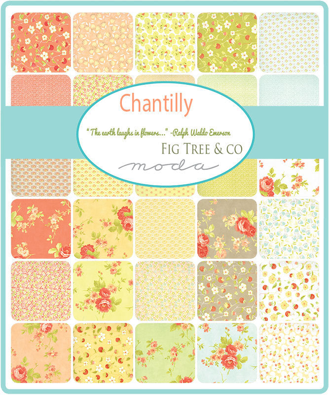 Chantilly Jelly Roll from Chantilly Collection at Cherry Creek Fabric