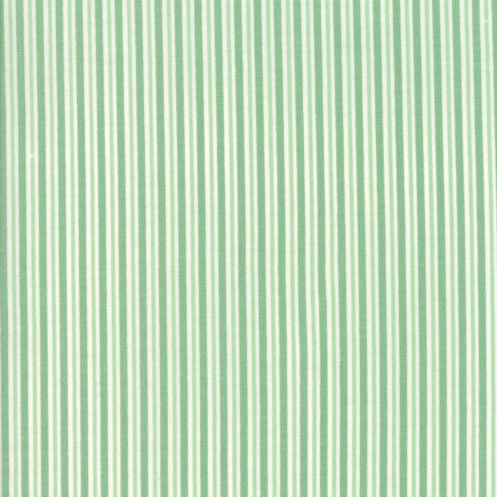Sweet Christmas by Urban Chiks | Green Candy Cane Stripe Fabric
