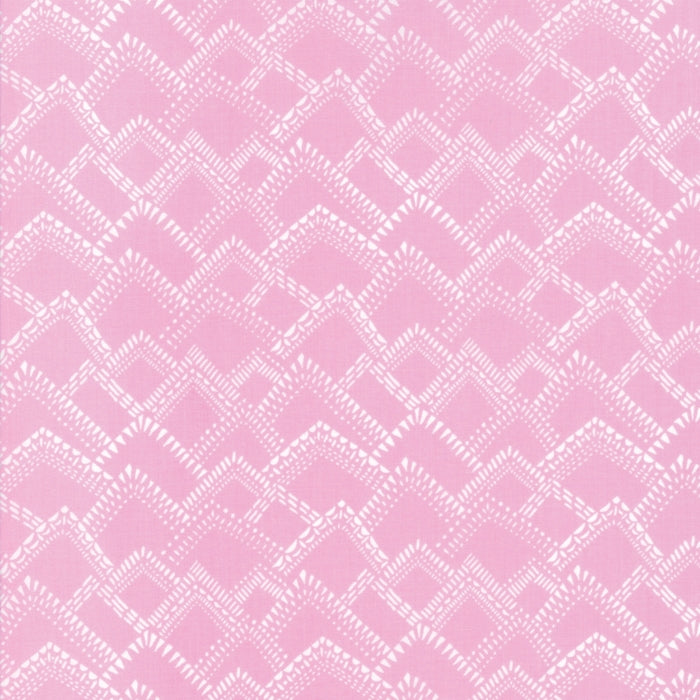 Pink Mountains Fabric from Yucatan Collection at Cherry Creek Fabric