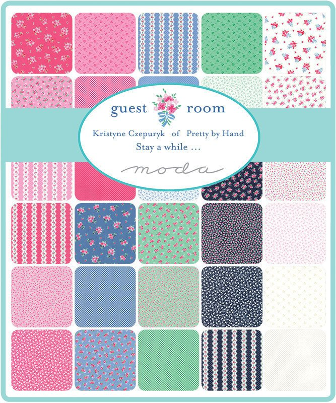 Guest Room Green & Pink Fat Quarter Bundle from Cherry Creek Fabric & Crafts Collection at Cherry Creek Fabric