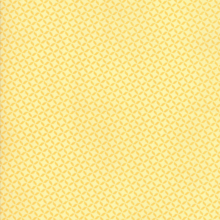 Yellow Geometric Fabric from Sunnyside Up Collection at Cherry Creek Fabric