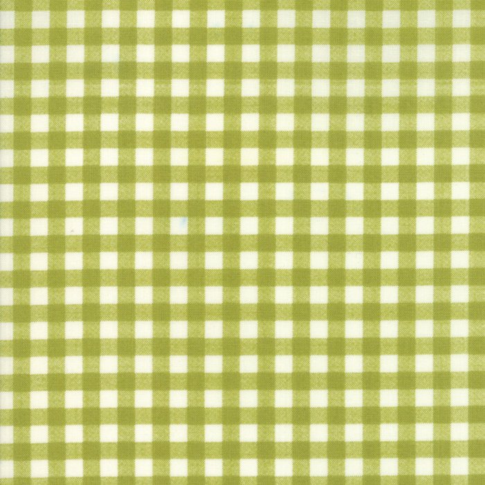 "END OF BOLT 22"" Green Plaid Fabric from Woodland Secrets Collection at Cherry Creek Fabric"