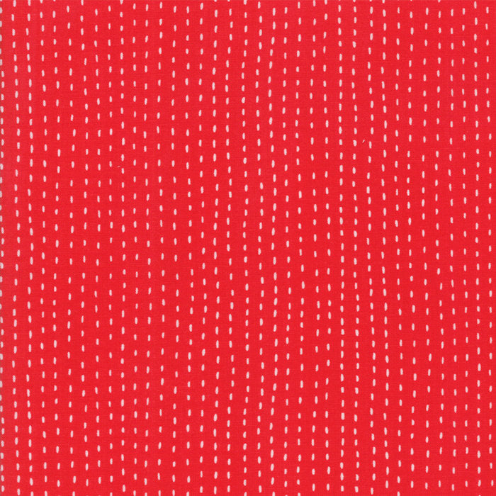 Red Strings Fabric