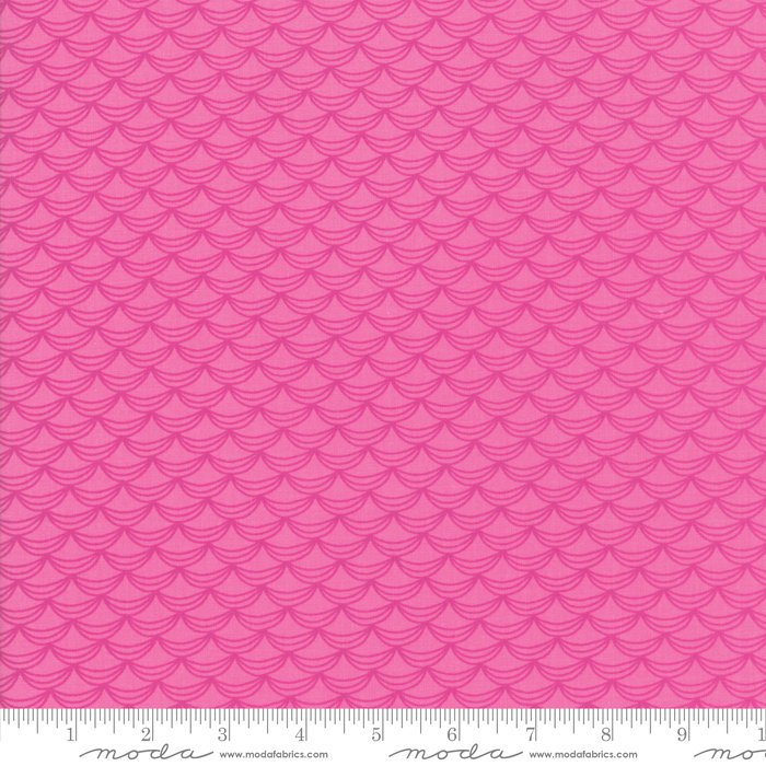 Dark Pink Ruffles Fabric from Once Upon a Time Collection at Cherry Creek Fabric