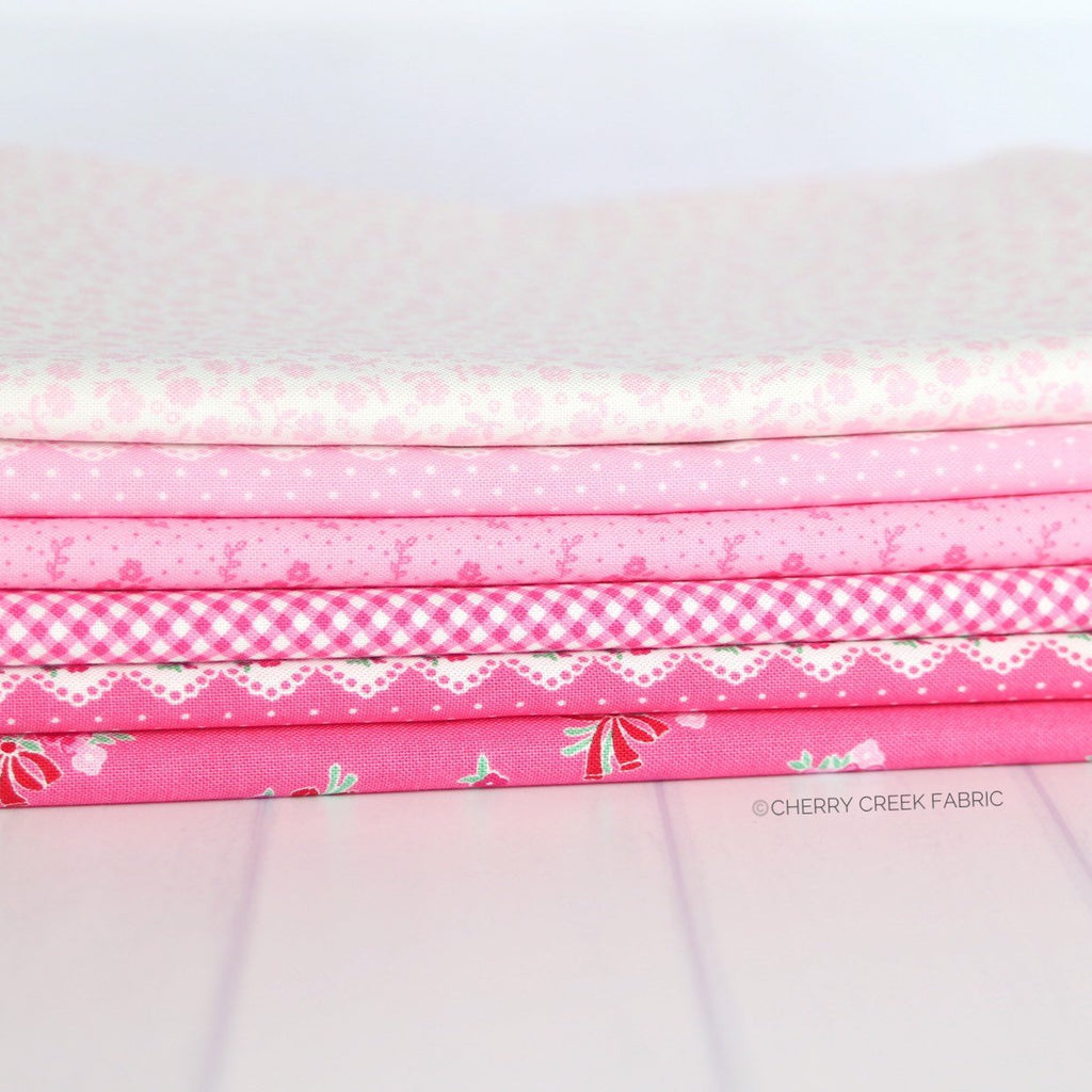 Guest Room Pink One Yard Bundle from Cherry Creek Fabric & Crafts Collection at Cherry Creek Fabric
