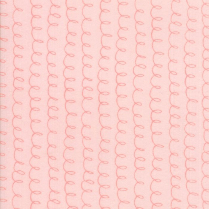 Light Pink Loopsy Flannel Fabric