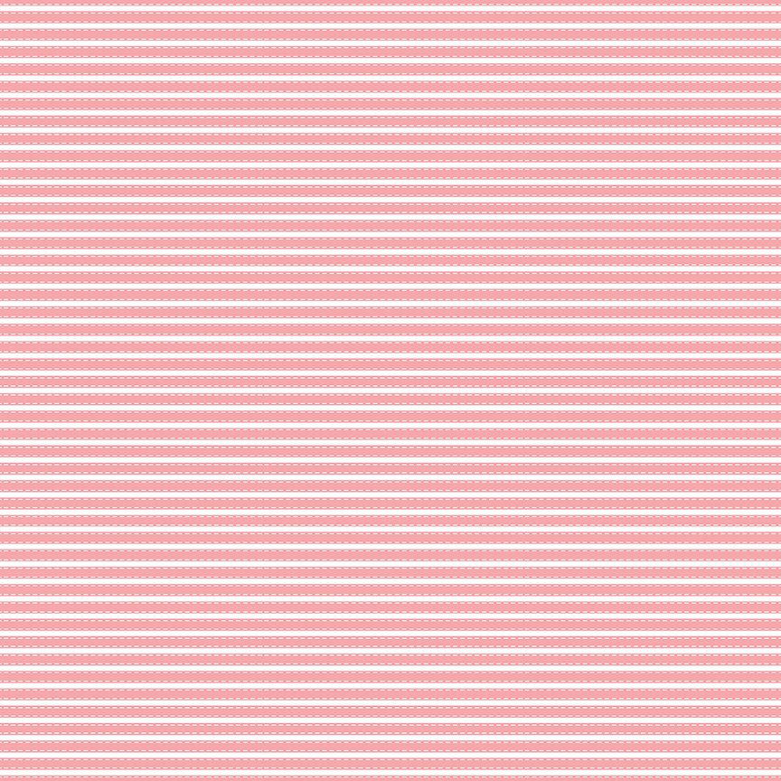 "END OF BOLT 1 yds + 19"" - Vintage Adventure Fabric - Pink Adventure Stripe Fabric - Beverly McCullough - Riley Blake Designs - Stripe Fabric from Cherry Creek Fabric & Crafts Collection at Cherry Creek Fabric"