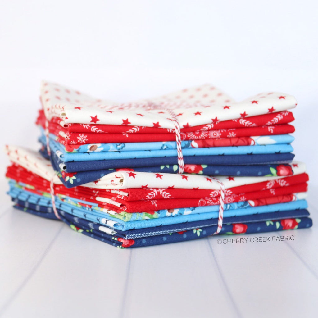 Harry & Alice Mini Half Yard Bundle - 7 pieces