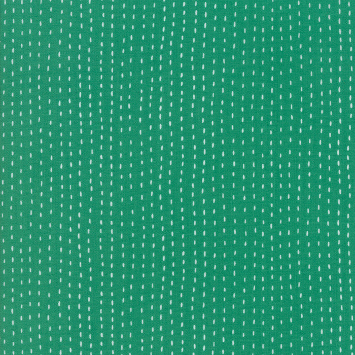 "Green Strings FabricEND OF BOLT 2 yds + 22"" from Ahoy Collection at Cherry Creek Fabric"
