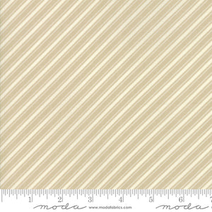 "Tan Ticking Stripe FabricEND OF BOLT 1 yds + 20"" from Ella & Ollie Collection at Cherry Creek Fabric"