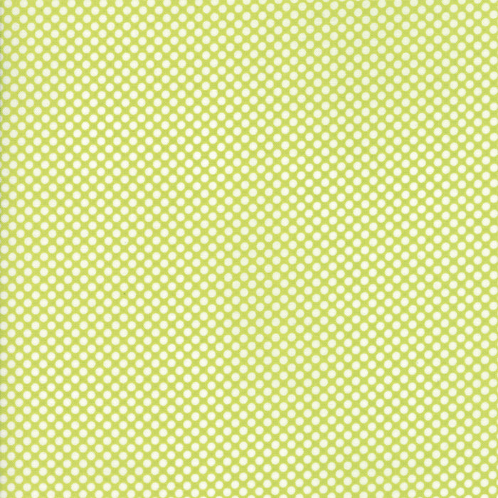 Green Christmas Dot Fabric from Vintage Holiday Collection at Cherry Creek Fabric