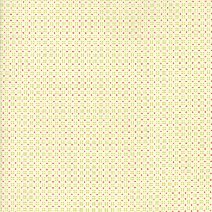 Multi Ivory Dotty Fabric from Clover Hollow Collection at Cherry Creek Fabric