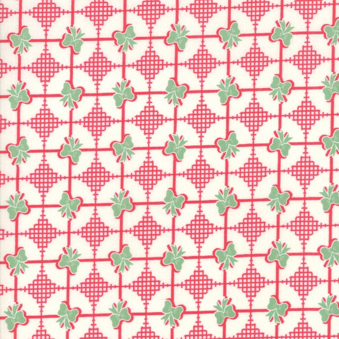 Sweet Christmas by Urban Chiks | Red Christmas Present Fabric
