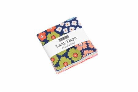 Lazy Days Mini Charm Pack from Lazy Days Collection at Cherry Creek Fabric